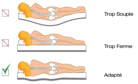 type-literie-colonne-vertebrale
